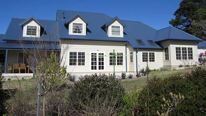 New Weatherboard Home In Bundanoon